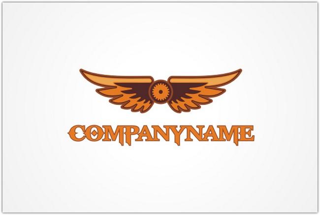 Steampunk Wings Logo