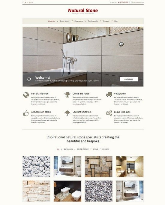 Stone Decor WordPress Theme