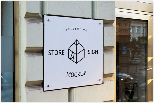 Store Sign Mock-up 2