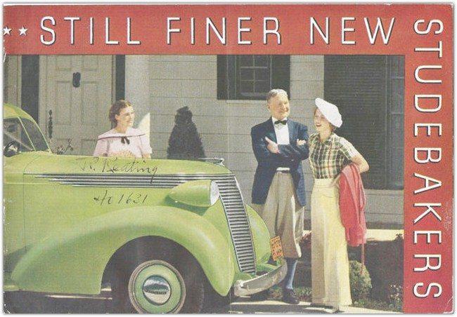 Studebaker Sales Brochure