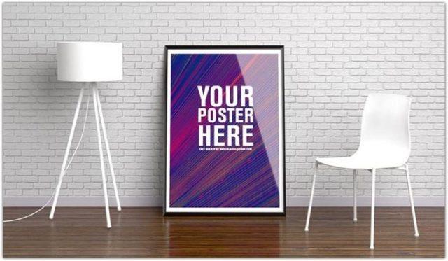 Stylish Poster Presentation Mockup