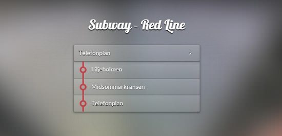 Subway - Red Line