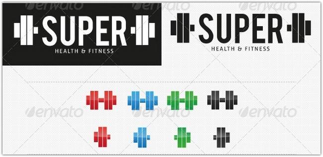 Super Gym Fitness logo