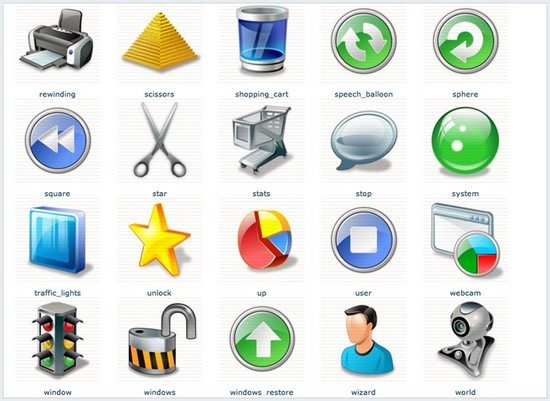 Swingin' Project Management Icon Set