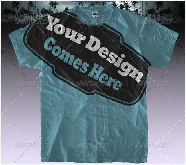 T-Shirt-Mock-ups-Pack-Shirt-Template