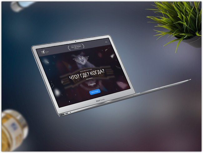 TV Show promo page MockUp Sketch For Free