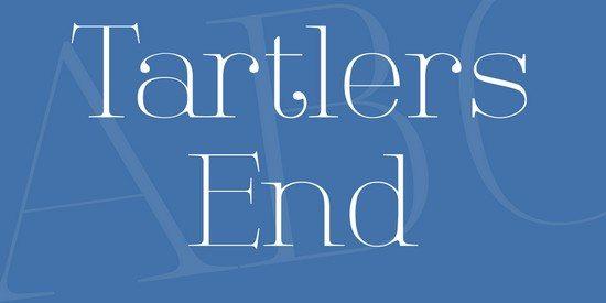 Tartlers End Font