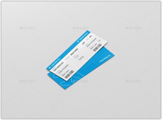Ticket Mockup # 3