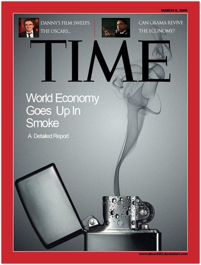 Time magazine cover psd