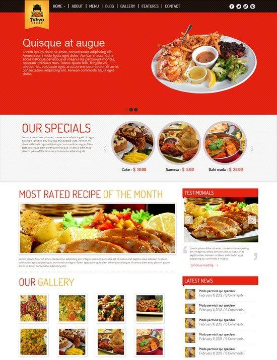 TokyoStreet - Restaurant HTML5 Theme