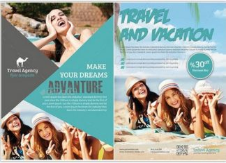 Travel Tourism Flyer