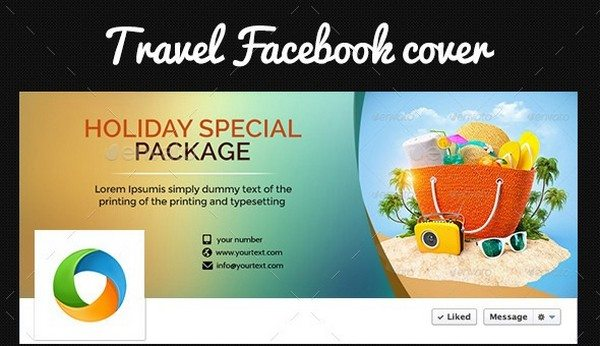 Travel Deal Facebook Cover Page