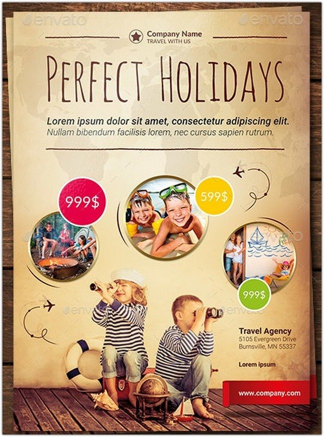 Travel Vacation Flyer