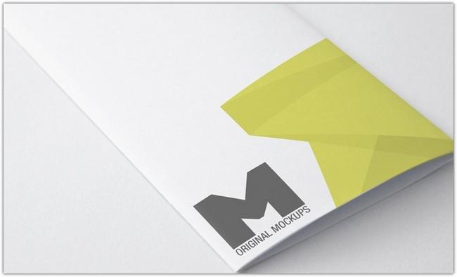 Tri Fold Brochure Mockup 01