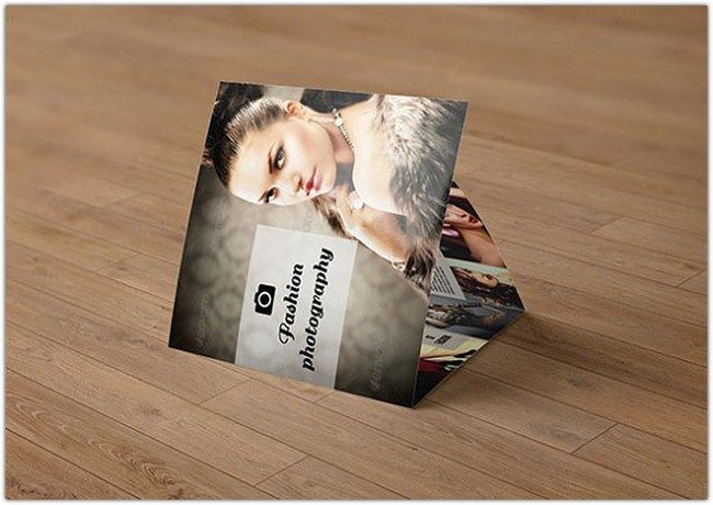 Tri-fold photography brochure-V75