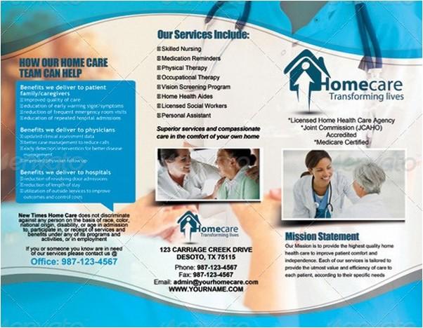 Trifold Medical Brochure