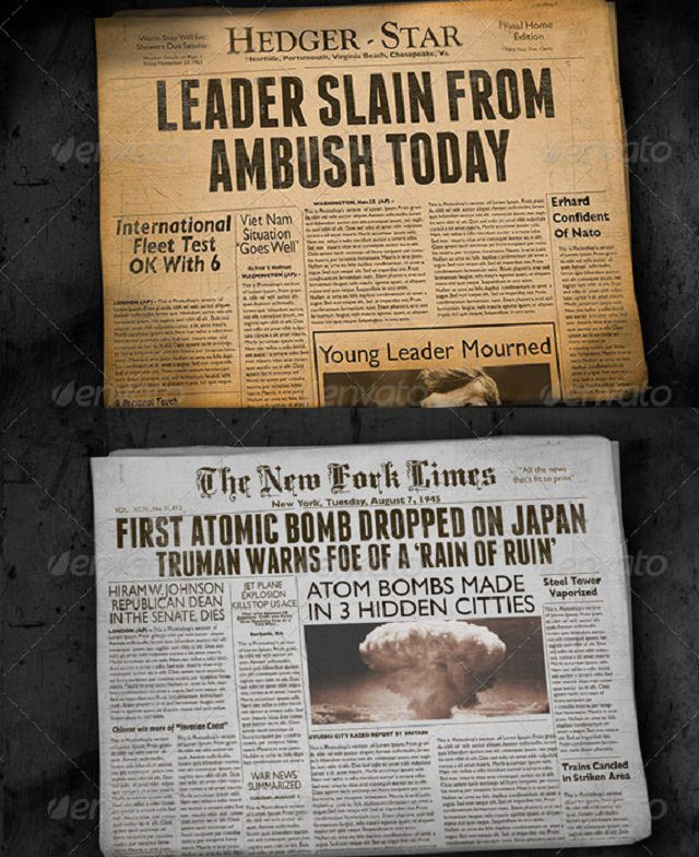 two-vintage-folded-newspaper-mockups