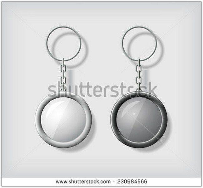 Two key chain pendants