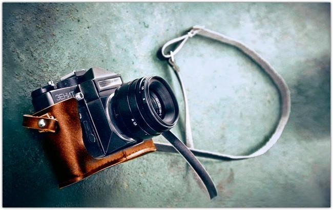 VINTAGE Camera Lens Zenith