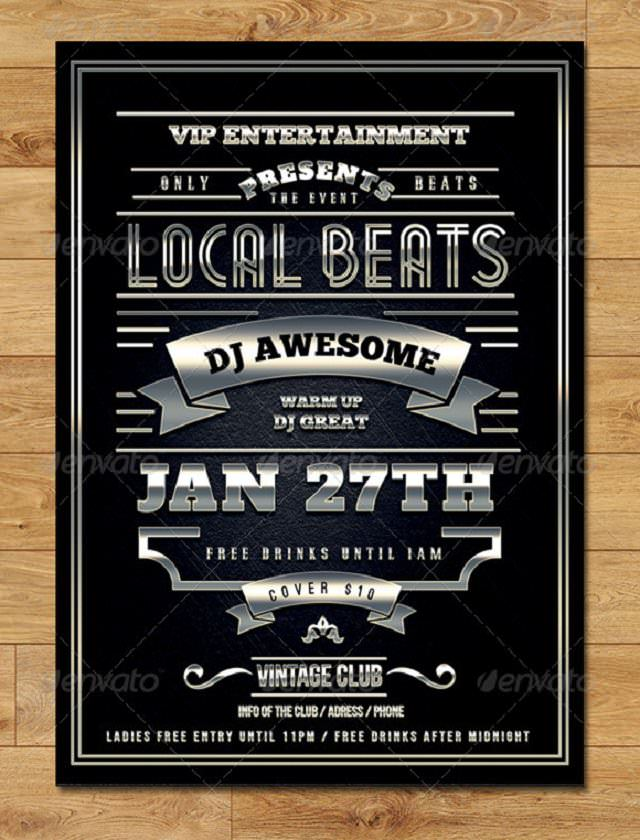 vintage-elegant-flyer-local-beats