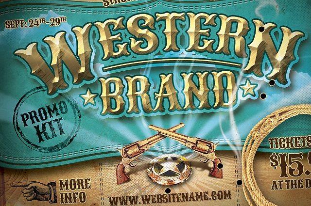 Vintage Western Brand Flyer large-005475