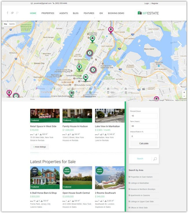 WP Estate - Real Estate Responsive WordPress Theme