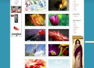 Wallpaper WordPress Theme