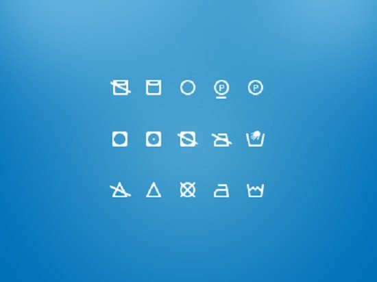Washing Icons – Free icon set