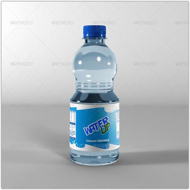 Water Bottle Mock-Up # 3