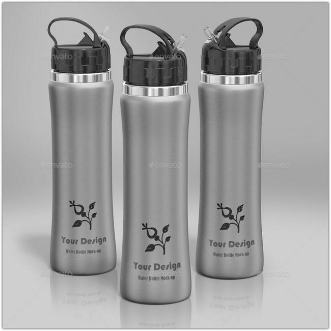 Water Bottle Mock-up # 2