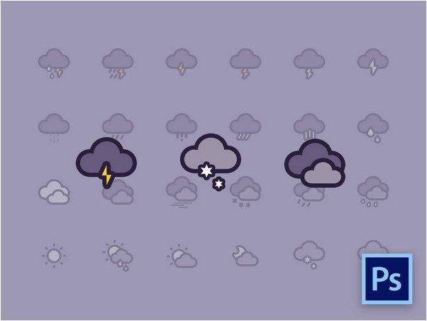 Weather Icons Freebie