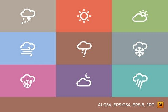 Weather Icons sets