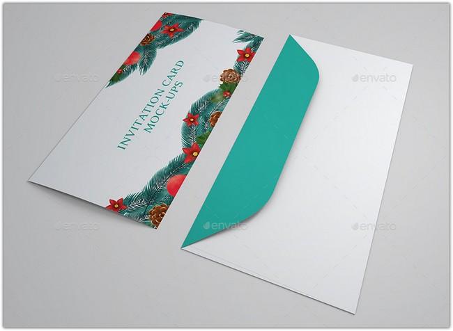 Wedding And Invitation Card Mock-Up