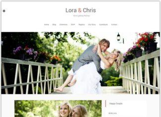 Wedding Blogger Template
