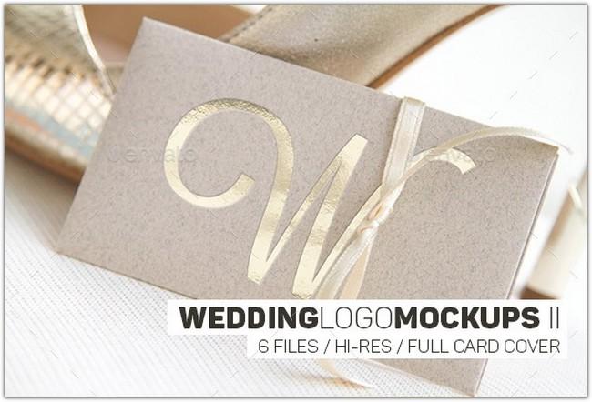 Wedding Logo Mockups