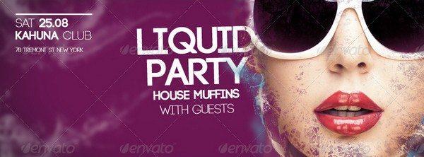 Wet Liquid Fb Cover