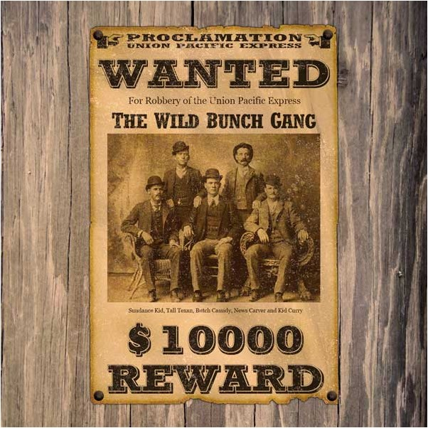 "Wild Western ""Wanted"" Poster in Photoshop"