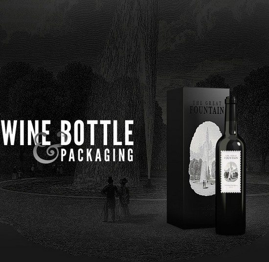 Wine Bottles – Free PSD Mock-up Template