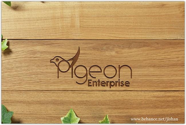 Wood Logo Mockup 1