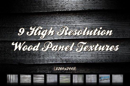 Wood Panels Texture Set