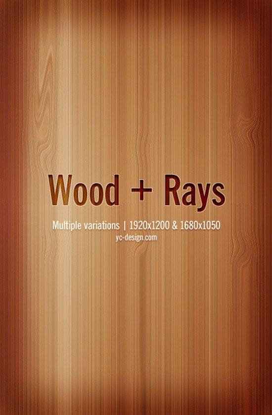 Wood plus Rays