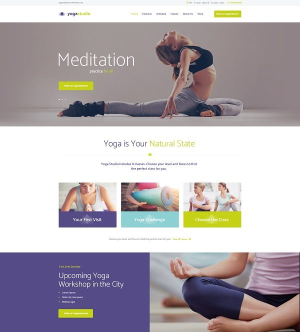 Yogastudio For Gym and Healthcare