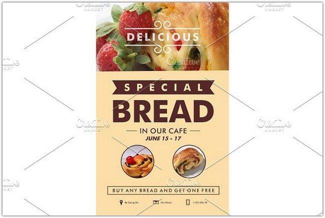 Your Special Bread flyer