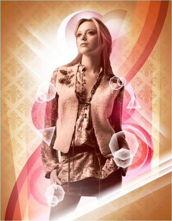 create retro aesthetic poster in Photoshop