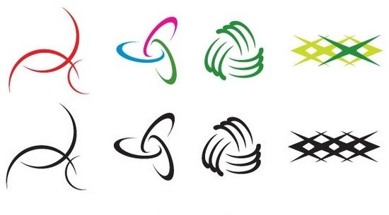 curves logo design