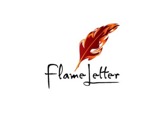 flame letter