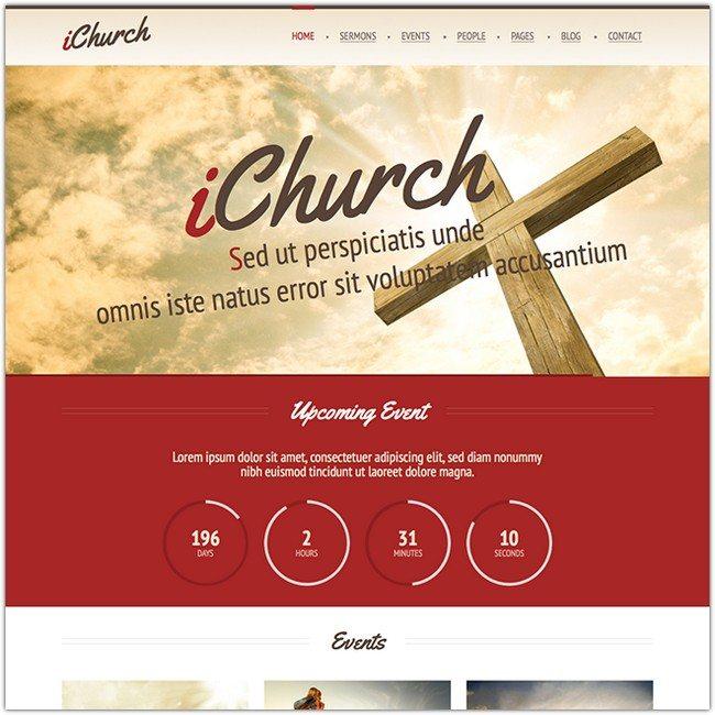 iChurch – Responsive Church WordPress Theme