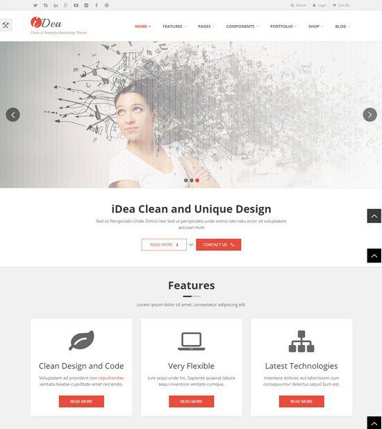 iDea-Responsive-Website-Template