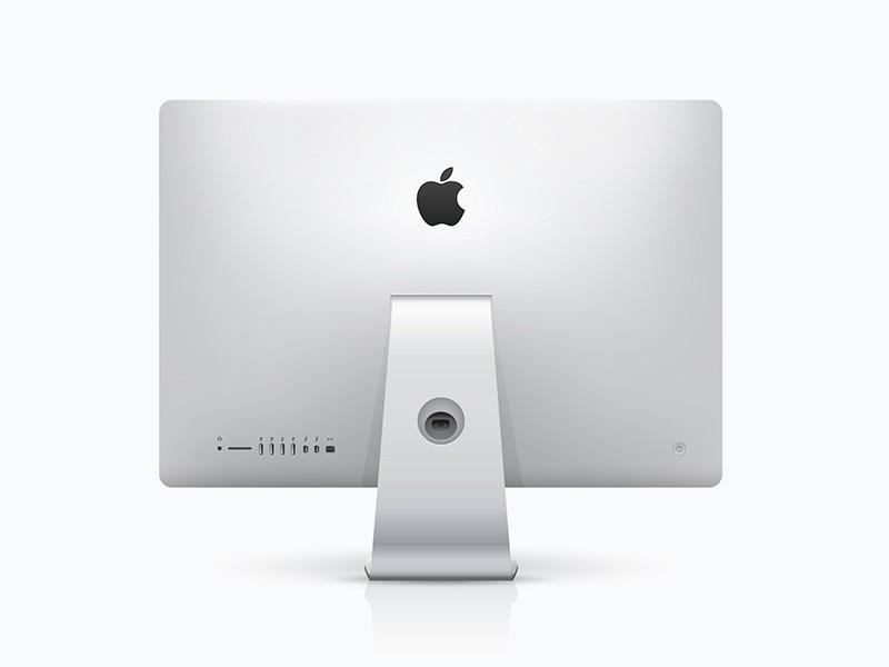 iMac Backside Mockup