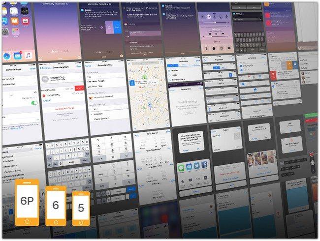 iOS 9 Complete UI